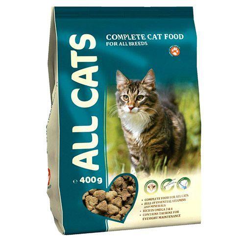 Корм для кошек ALL CATS полнорационный сух. 0,4кг