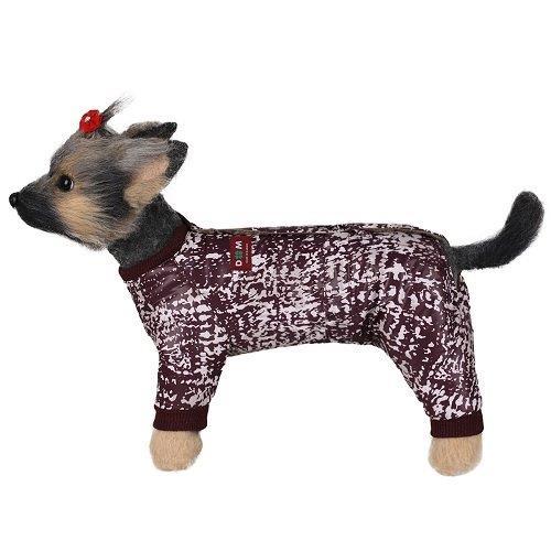 Комбинезон для собак Dogmoda Нью-Йорк девочка 28см