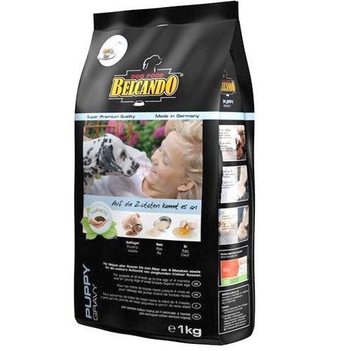 Корм для щенков и кормящих собак Belcando для мелких и средних пород сух. 1кг