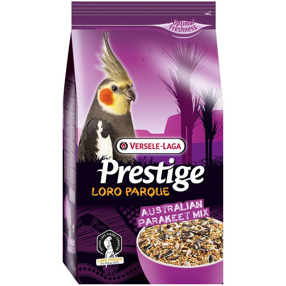 Корм для птиц VERSELE-LAGA Prestige Premium Australian Parakeet Loro ParqueMix для средних попугаев 2,5кг