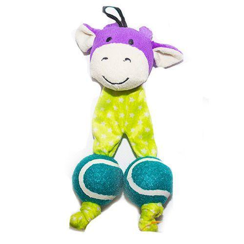Игрушка для собак CHOMPER Bark A BooMini Звери с теннисными мячами