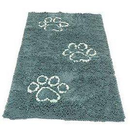 Коврик для собак Dog Gone Smart универсал. cупервпитывающ.Doormat Runner, 76х152см, цвет мор. Волны