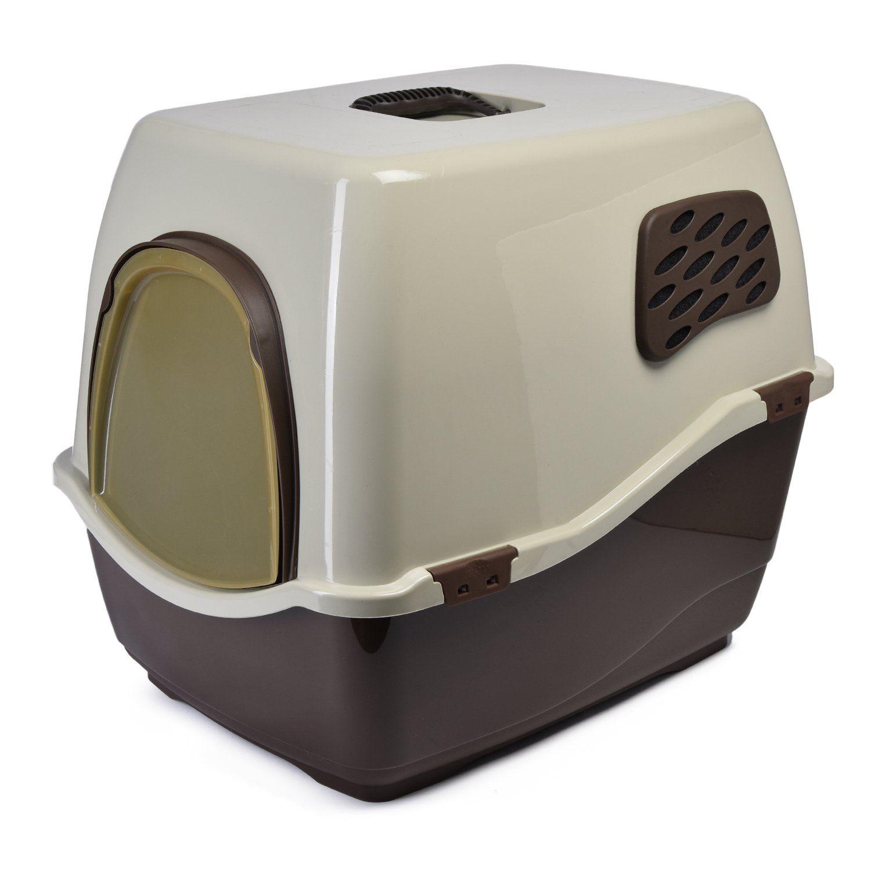 Биотуалет для кошек MARCHIORO BILL 2F коричнево-бежевый биотуалет химический отзывы