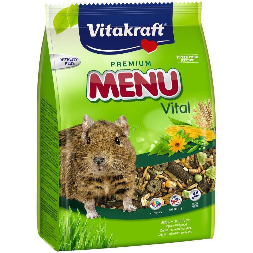 Фото - Корм для грызунов VITAKRAFT для дегу сух. 600г корм для грызунов vitakraft для дегу сух 600г