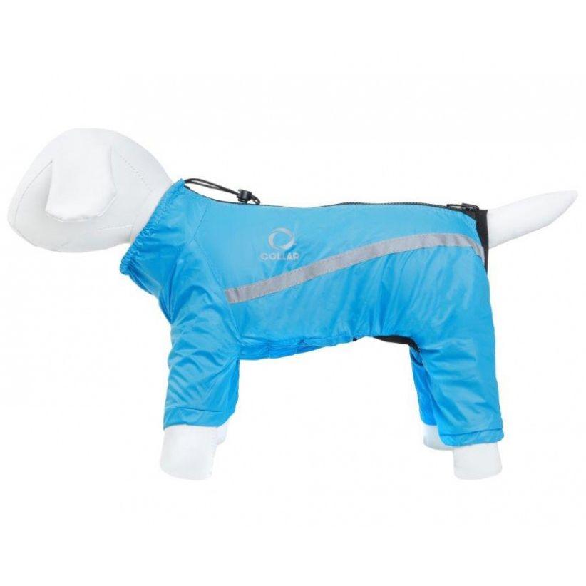 Дождевик двусторонний COLLAR №1 Airy Vest One черно-голубой 32см полимерный моделин cernit number one 56 грамм голубой 200