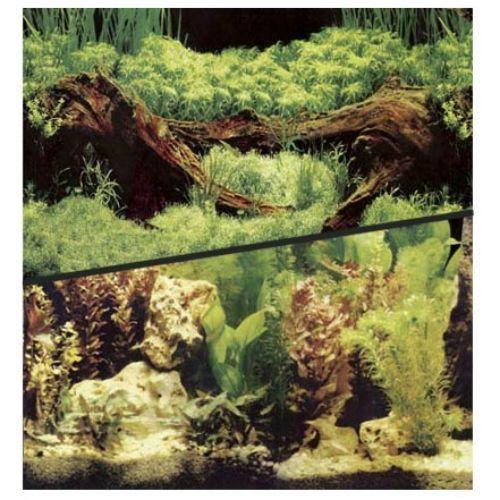 Фон для аквариума HAGEN двухсторонний растительный/растительный 30см (цена за 10см) аквариумистика цена