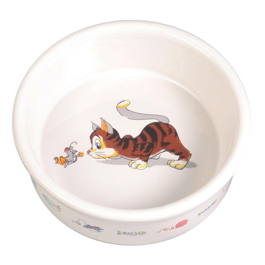 Миска для кошки TRIXIE 200мл 11,5см керамическая керамическая подвеска