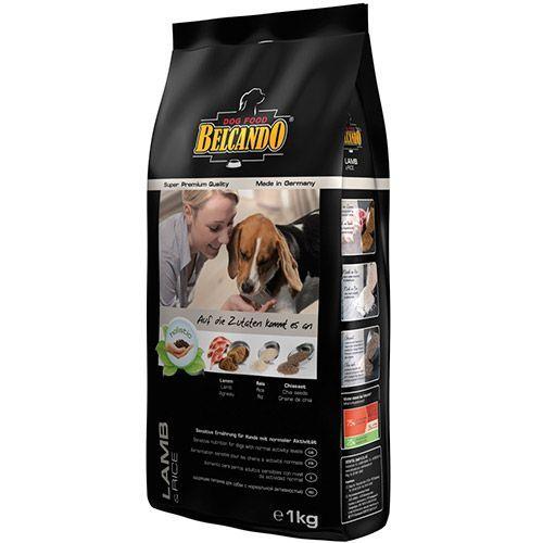 Корм для собак Belcando для всех пород ягненок, рис сух. 1кг цена
