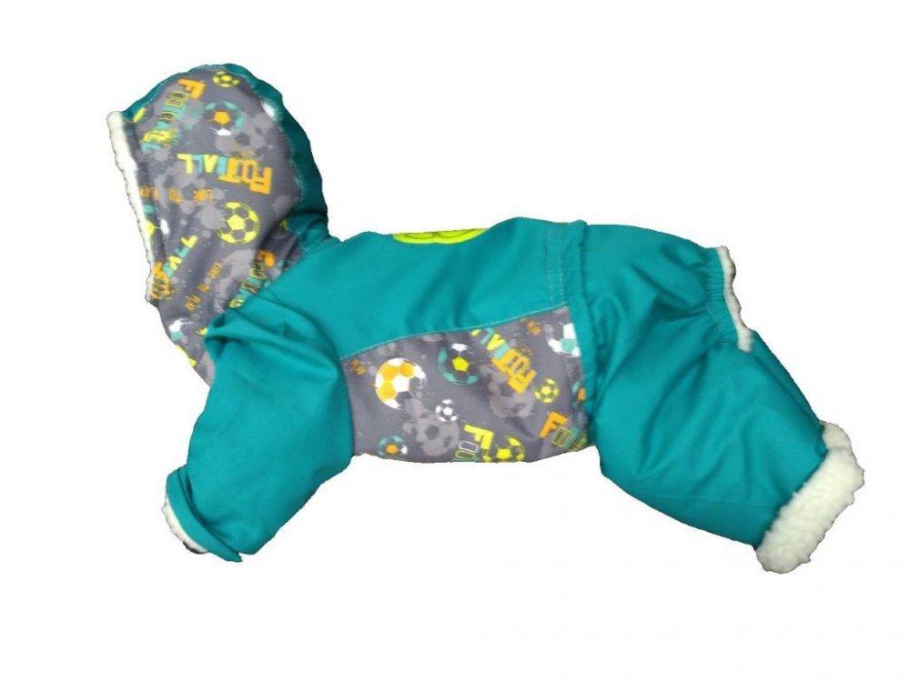 Комбинезон для собак ДОГ МАСТЕР Лыжник размер M 26см свитер для собак дог мастер поло размер m 26 см