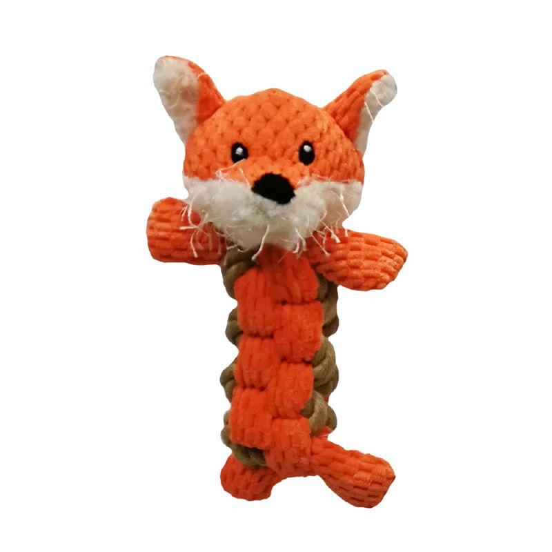 Игрушка для собак CHOMPER Into the Woods Лиса с плетеным туловищем и пищалкой 18 см eva woods the ex factor