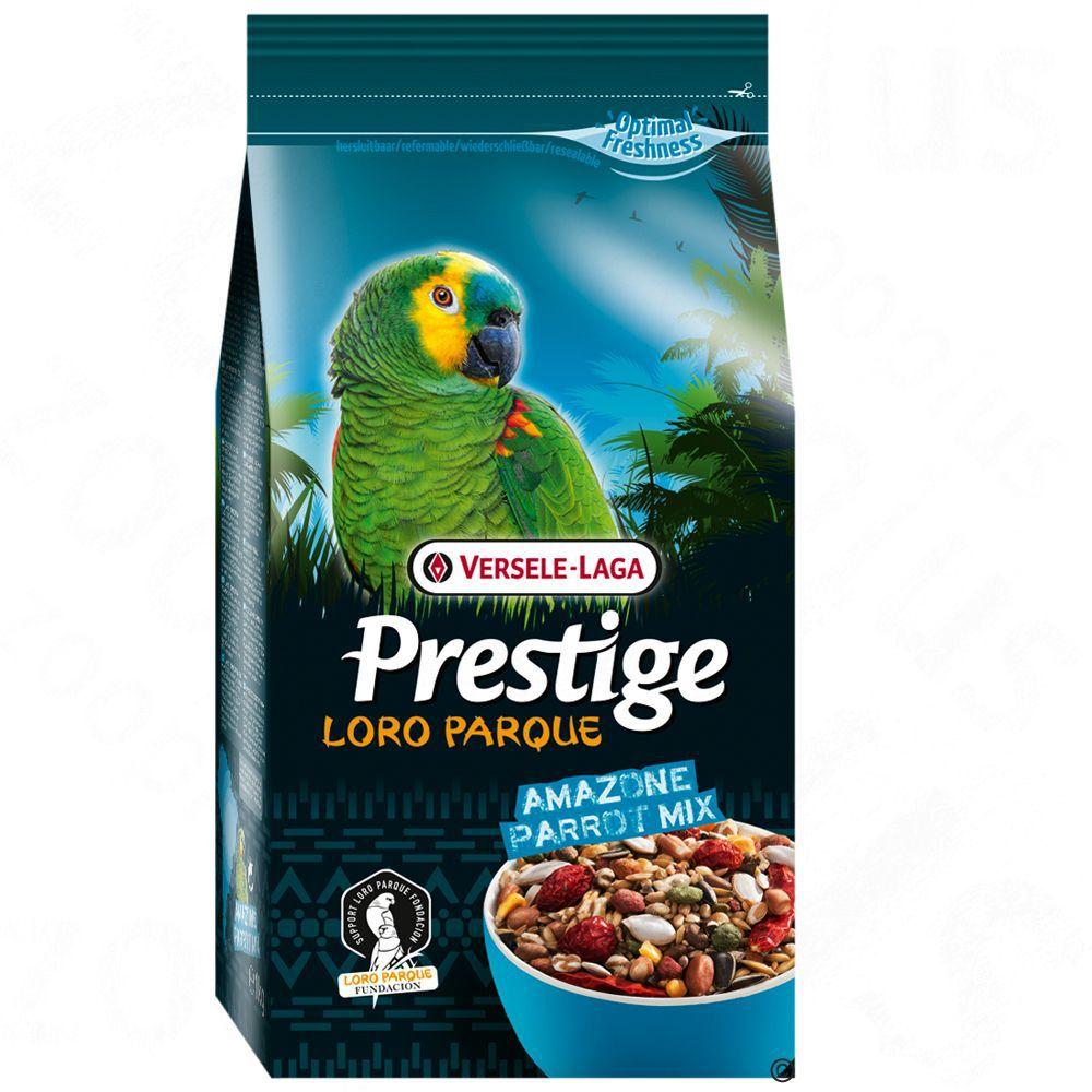 Корм для птиц VERSELE-LAGA Prestige Premium Amazone Parrot Loro Parque Mix для крупных попугаев 15кг
