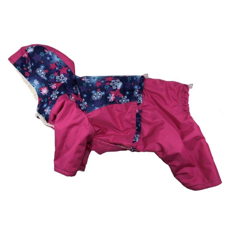 Комбинезон для собак ДОГ МАСТЕР Лыжница размер L 28 см свитер для собак дог мастер поло размер l 28 см