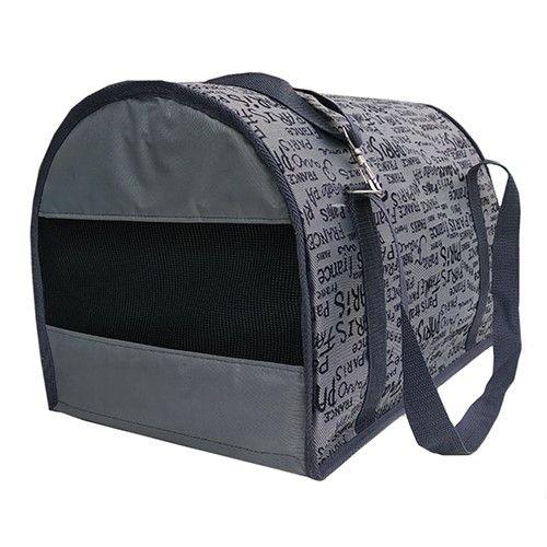 Фото - Сумка-переноска для животных ТЕРЕМОК полукруглая большая 45х29х30см сумка переноска для животных малая теремок принт джинса 34 22 21 см