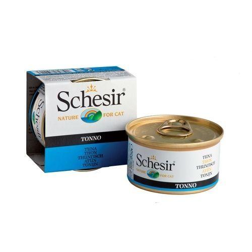 купить Корм для кошек SCHESIR тунец конс. 85г дешево