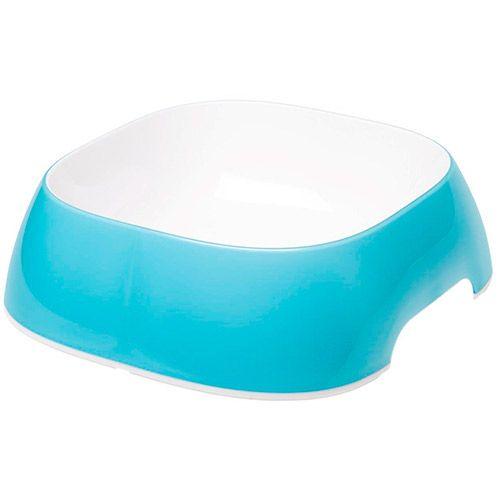 Миска для животных FERPLAST Glam Large пластиковая голубая 1,2л