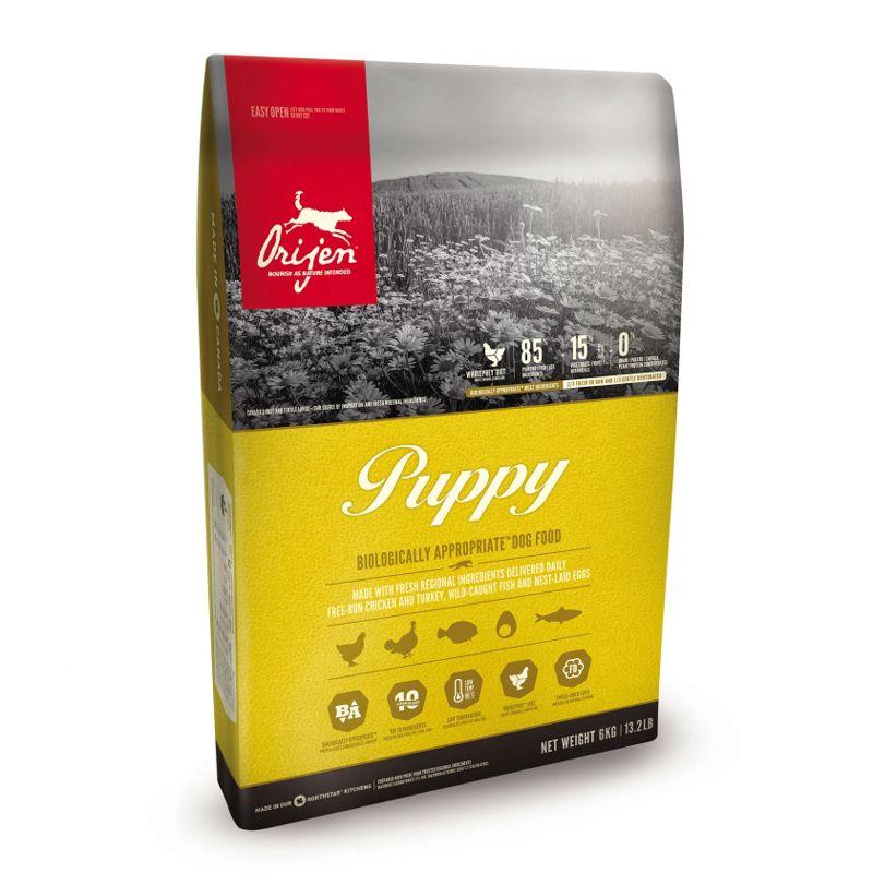 цены Корм для щенков Orijen Puppy для всех пород (85/15) сух. 11,4кг