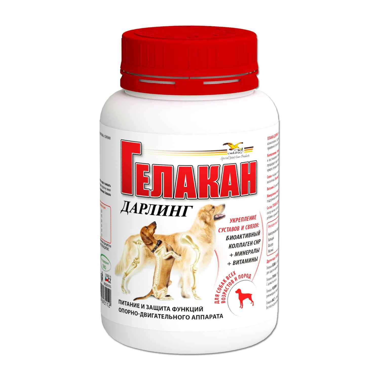 Добавка к корму для собак Gelacan Дарлинг для ОДС собак домашнего содержания 150г