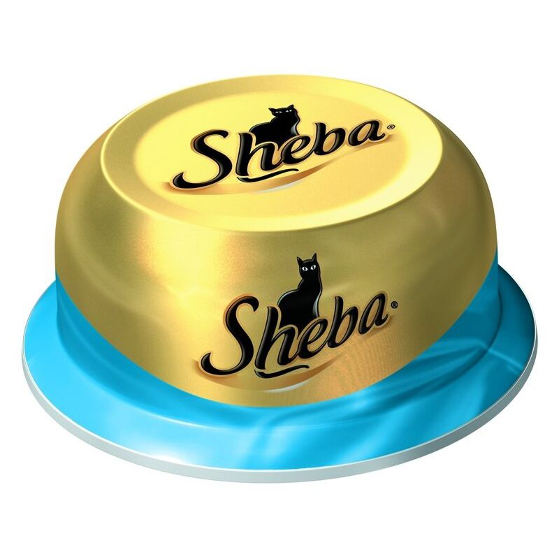 Корм для кошек SHEBA Сочный тунец в нежном соусе конс. 80г