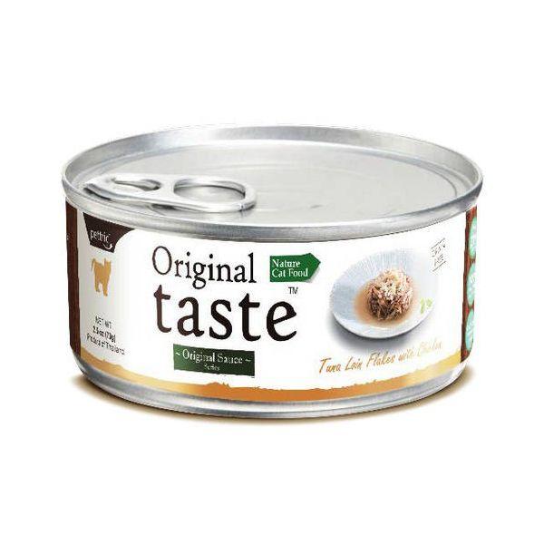 Корм для кошек Pettric ORIGINAL TASTE тунец, курица в соусе конс.