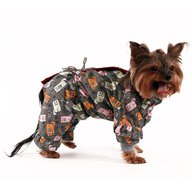 цена Комбинезон для собак YORIKI Матильда девочка р-р S 20 см онлайн в 2017 году