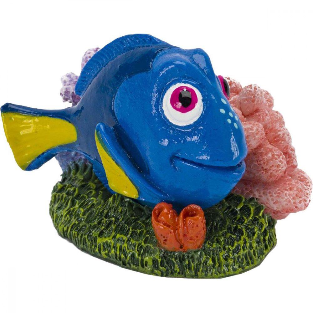 Грот для аквариумов PENN-PLAX Голубой хирург Дори 4,5х5х6,5см грот для аквариумов artuniq горный обрыв 37x21x29см