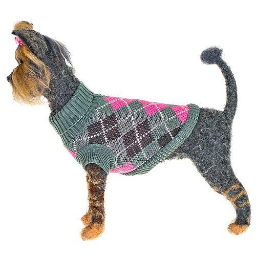 Пуловер для собак HAPPY PUPPY Оксфорд-2 девочка 24см